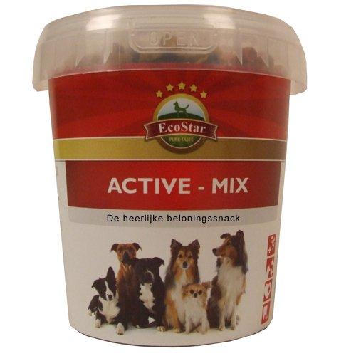 Hundefutter EcoStar Snack Active - Mix Eimer 1,3kg