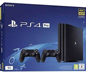 Sony PlayStation 4 Pro - 1TB + 2. Dualshock v2 Controller