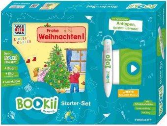 [Thalia/Amazon] BOOKii Starterset was ist was Kindergarten Frohe Weihnachten! Hörstift mit Aufnahmefunktion
