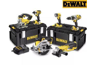 DeWalt DCK692M3 18V Kombopack (6 Geräte, 3 Akkus, 2 Koffer, 1 Ladegerät)