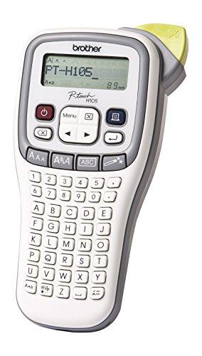 Brother P-touch H105 Beschriftungsgerät weiß/grau