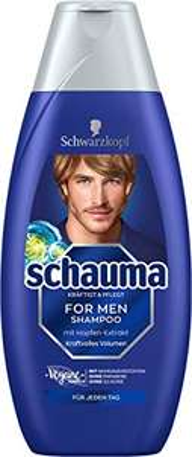 Schwarzkopf Schauma Shampoo For Men (5 x 400 ml) (Plus-Produkt)