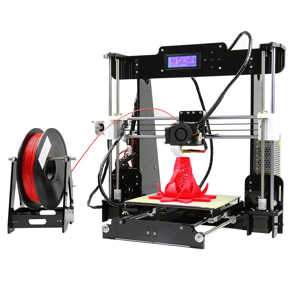 Anet A8 3D Desktop Drucker 3D DIY 3D Printer High Precision i3 Extruder LCD Screen Upgrated Machine (rakuten / Bastlergerät) inkl. Versand