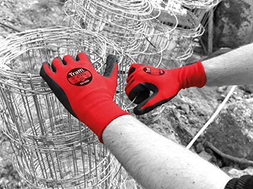 traffiglove tg1050–07 zentrisch Handschuhe, Level 1, Latex Schnitt, Größe 7 (10 Stück) (amazon vorbesteller) + weitere deals @beschreibung