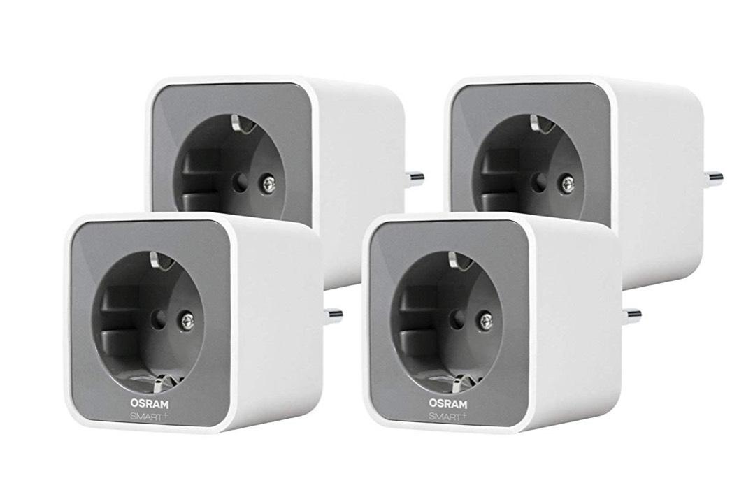 Osram Smart+ Plug, Funksteckdosen 4er Pack