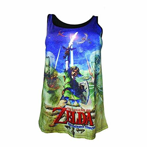 Girl-Top Zelda Skyward Sword in L