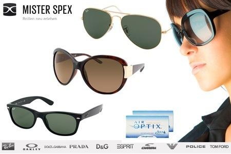 50€ Misterspex-Gutschein für Sonnenbrillen und Kontaktlinsen um 19€ *Update*