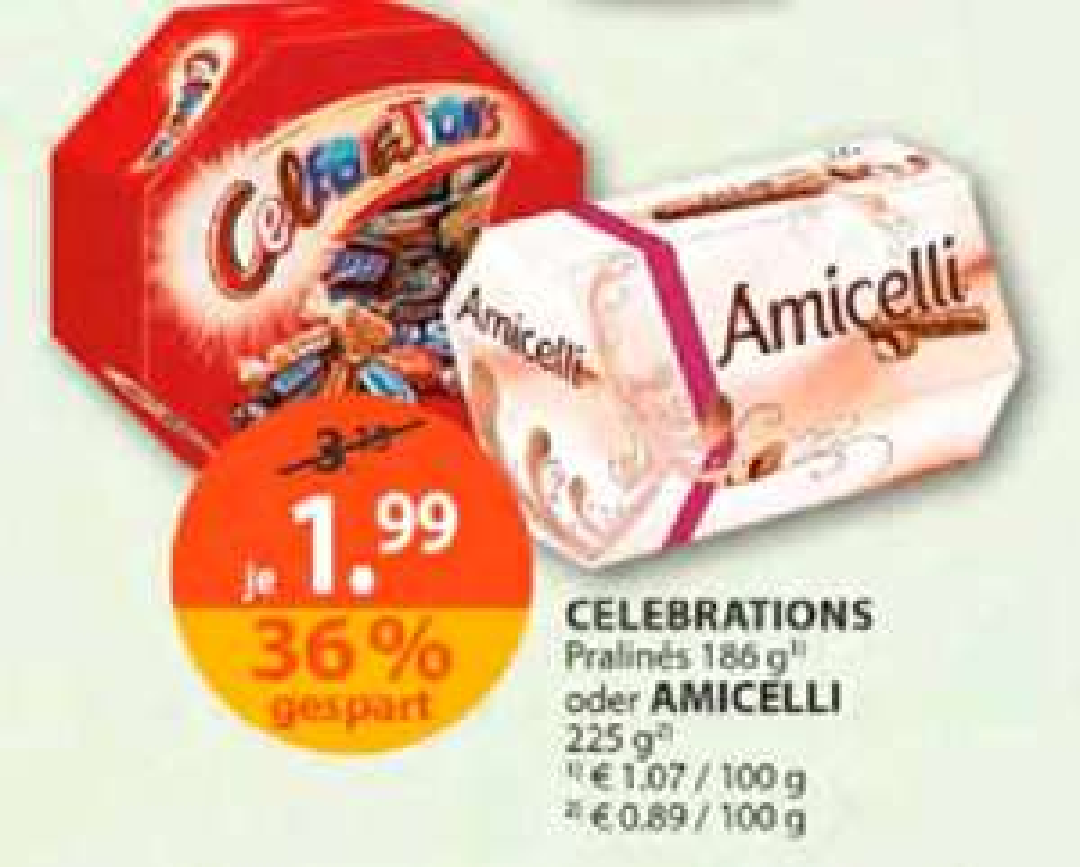 [Müller] Celebrations / Amicelli um € 1,99