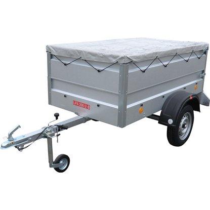 Pongratz Anhänger-Set LPA 206 U-B inkl. Aufsatzwände 360 mm, Flachplan