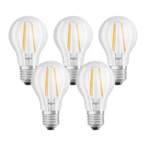 Prime: Osram Classic 7W (60W) LED Lampe - 5er Pack