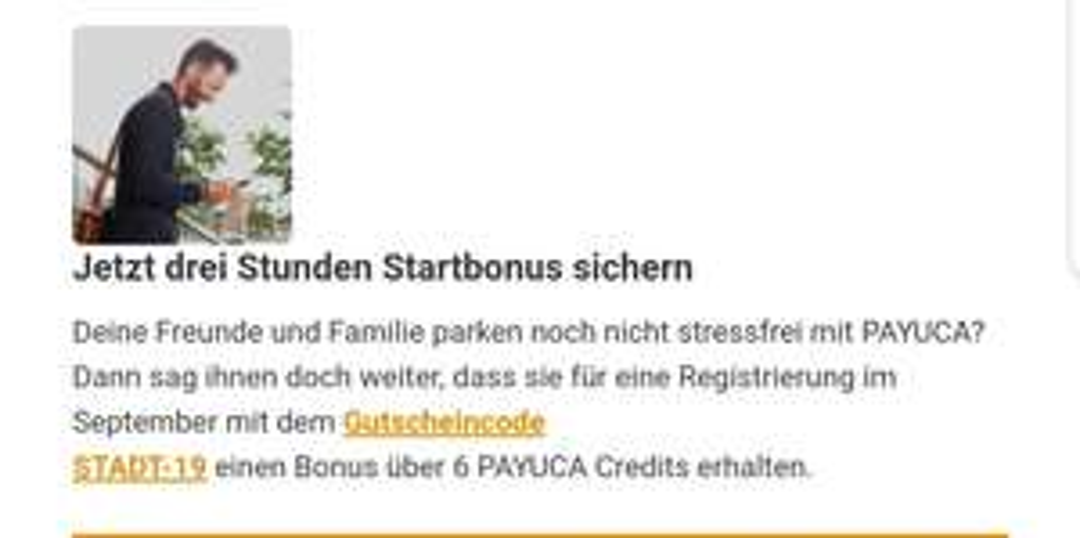 6 Gratis Credits bei PAYUCA