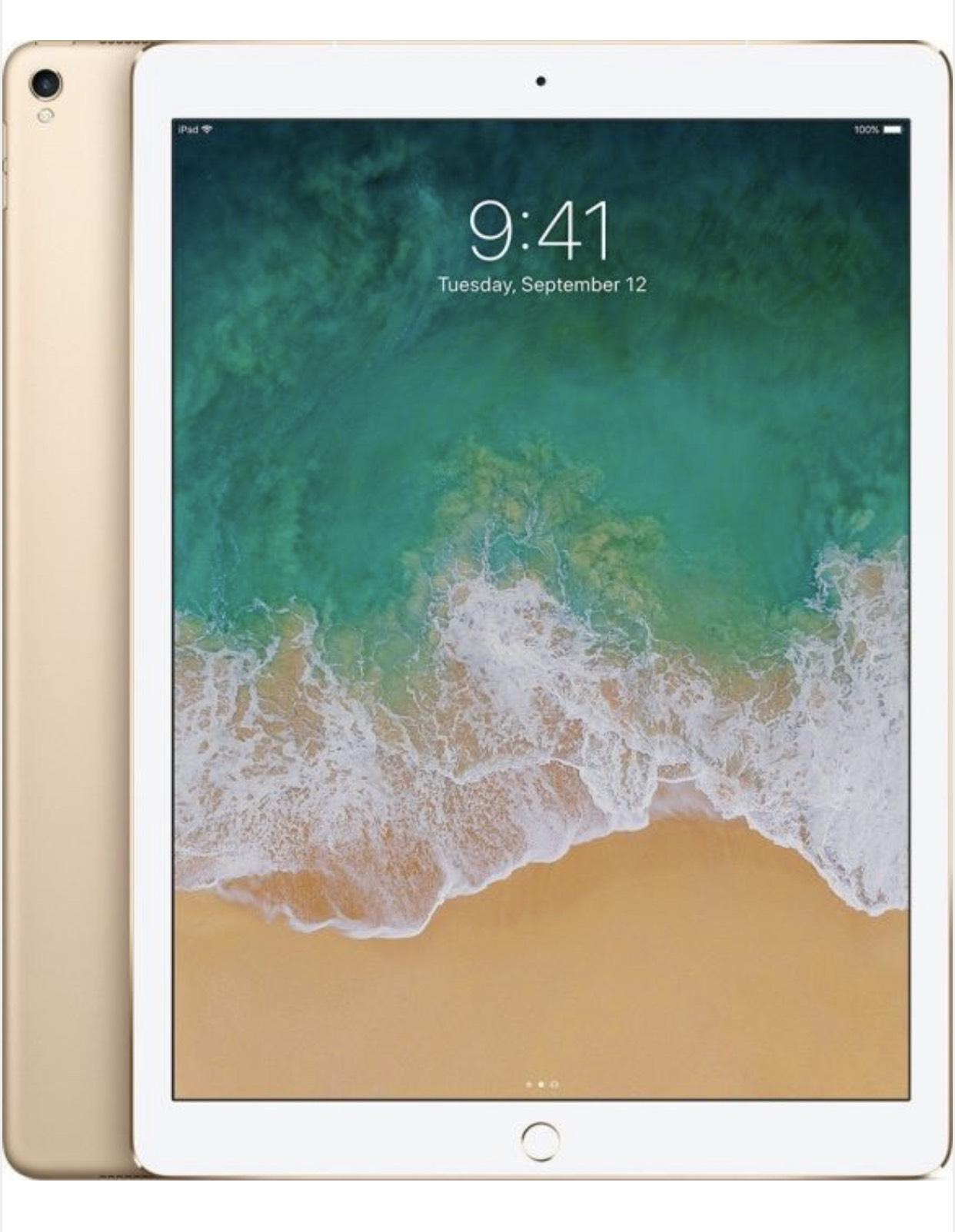 "Apple iPad Pro 12.9"" 256GB, LTE, gold, 2. Generation"