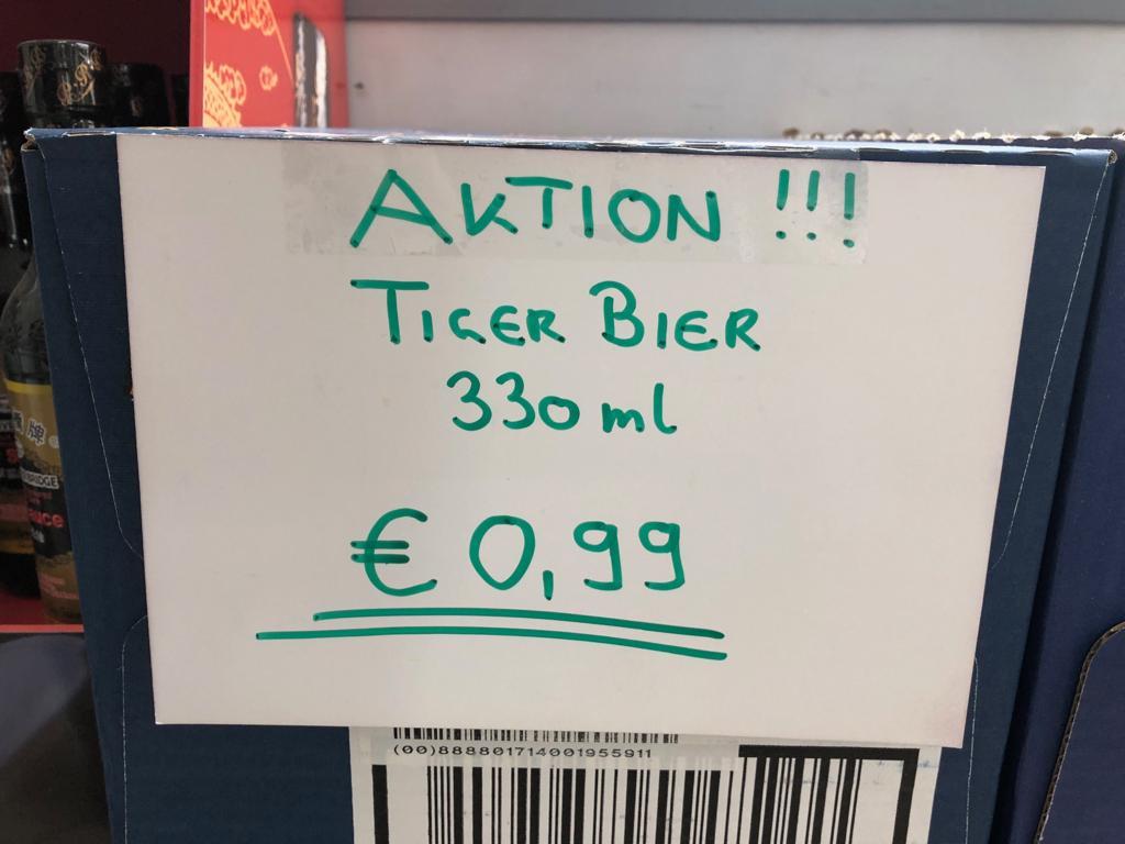 Tiger Bier - Bier aus Singapur