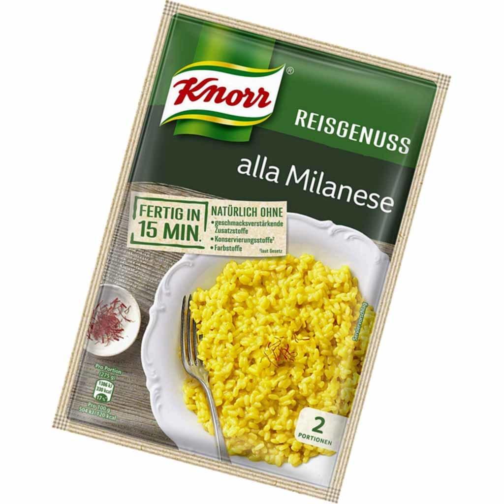 Knorr Reisgenuss alla Milanese