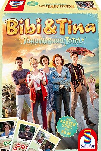 Schmidt Spiele Bibi & Tina Tohuwabohu total - Das Kartenspiel zum Film
