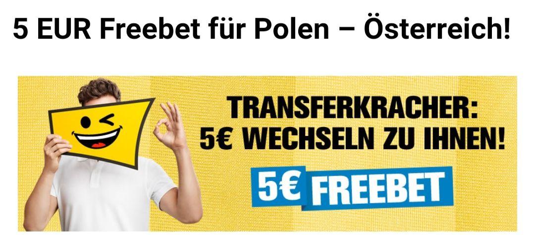 Gratistipp bei Interwetten in Höhe von 5€ auf das Ländermatch Polen vs. Österreich