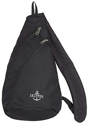 [Amazon] Skipper Body Bag mit Schultergut - Rucksack- Schwarz nur 3,94€