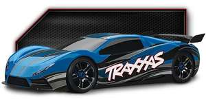 Traxxas X01 Onroad RC Car 1:7 Brushless 160 km/h !!