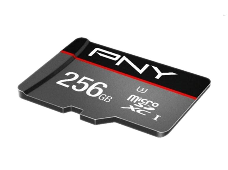 PNY Elite Performance R100/W90 microSDXC 256GB Kit, UHS-I U3, Class 10 (SDU256ELIPER-EF)