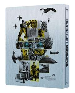 Transformers 5 Movie Collection (Blu-ray, Limited Steelbook)