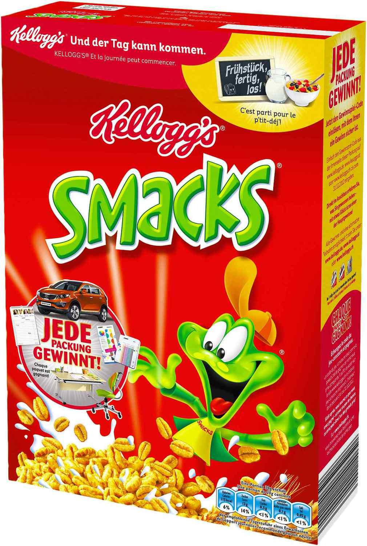 Kellogg's diverse Packungen ab 2 Stück für 1,19€/Pkg per Coupies-Cashback