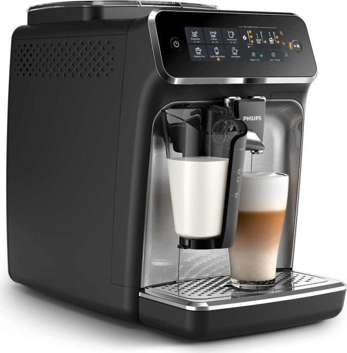 Philips 3200 Serie EP3246/70 Kaffeevollautomat (LatteGo Milchsystem) schwarz/silber-lackiert