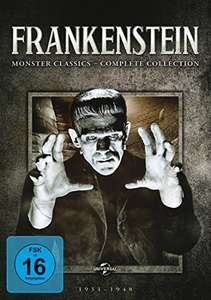 Frankenstein: Monster Classics - Complete Collection (6 DVDs / 8 Filme)