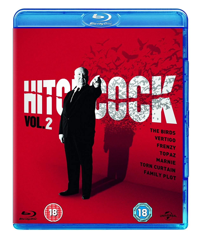 [AmazonUK] Hitchcock Vol. 2 Blu Ray 1958-1976 UK mit dt. Tonspur