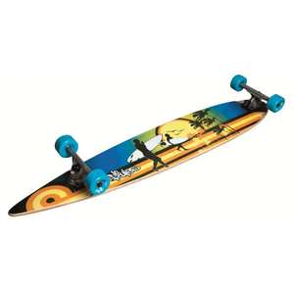 [3sSports] No Rules Longboard Beach Abec 7 Skateboard 3 Ausführungen