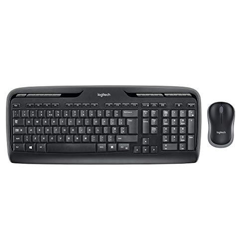 Logitech MK330 Kabellose Tastatur und Maus um 23,13€ (Prime)