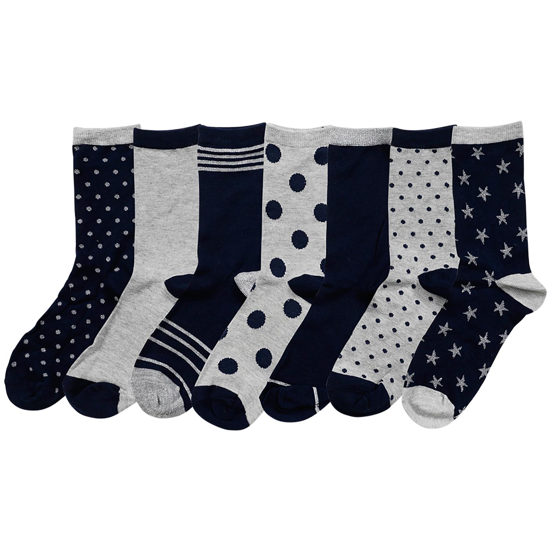 Socken Größe 35 - 42 | 7 Paar bei Action!