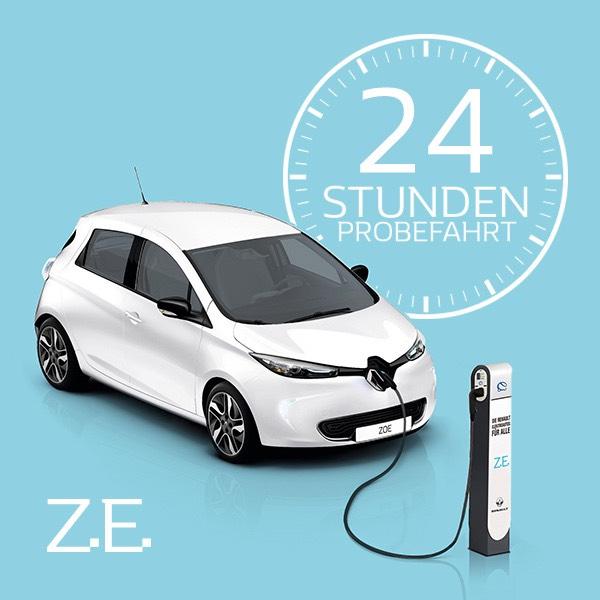 Renault Zoe 24h gratis testen
