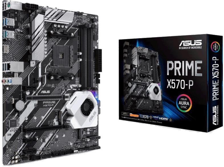 ASUS Prime X570-P ATX Mainboard Sockel AM4
