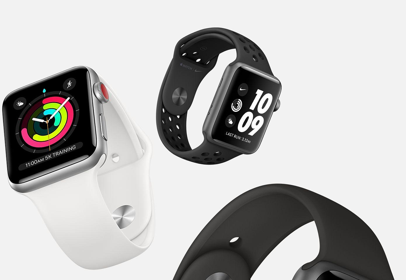 [Apple.com] Apple Watch Series 3 im Abverkauf - ab 229 Euro