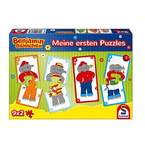 Benjamin Blümchen, Meine ersten Puzzles, 9x2 Teile