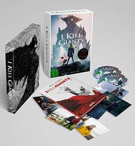 I Kill Giants Sonderedition inkl. DVD, Blu-ray, Postkarten und Hardcover-Graphic Novel mit Variant Cover