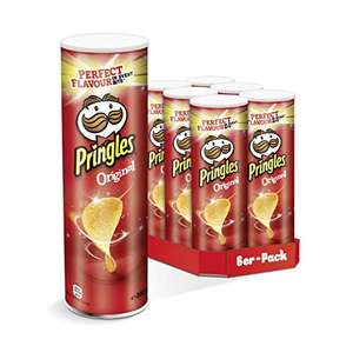 Amazon: Pringles div. Sorten 6er Pack