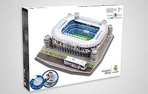3D Puzzle Santio Bernabeu Madrid ODER Stamford Bridge Chelsea London