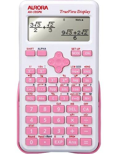 Aurora ax-595pk Wissenschaftlicher Taschenrechner – Pink