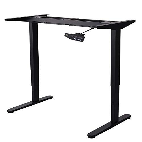 Elektrisches Schreibtischgestell - Flexispot E5 (schwarz oder weiß)