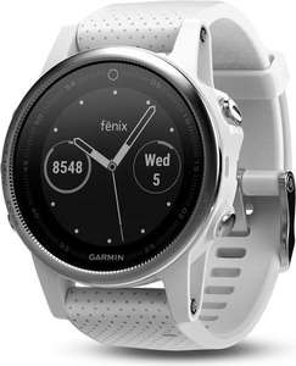 Garmin Fenix 5S silber/weiß