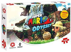 Super Mario Odyssey Fossil Falls Puzzle (500 Teile) PLUSPRODUKT