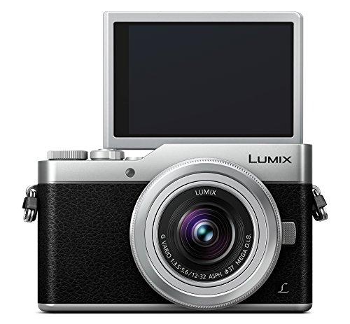 Panasonic Lumix DC-GX800KEGS Systemkamera (16 Megapixel, 4K30p Videoaufname, mit Objektiv Lumix G VARIO 12-32mm/F3.5-5.6 ASPH) Silber
