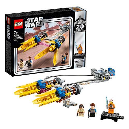 LEGO Star Wars 75258 Die dunkle Bedrohung Anakin's Podracer – 20 Jahre LEGO Star Wars, Bauset