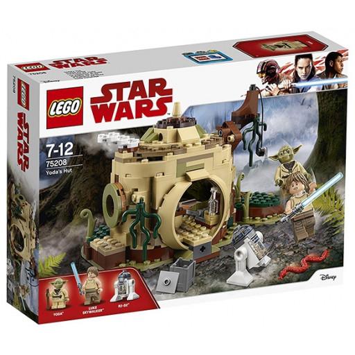 LEGO Star Wars Episoden I-VI - Yodas Hütte (75208) [Libro lokal]