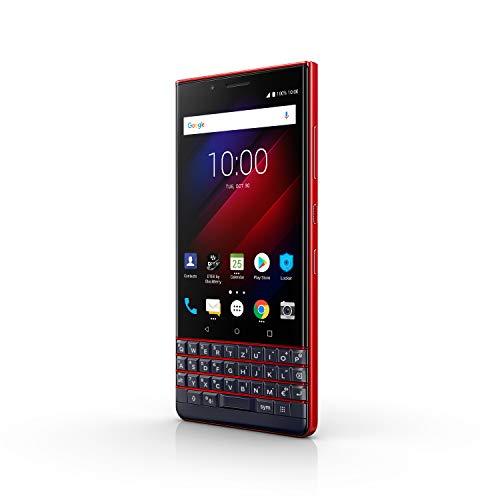 BlackBerry KEY2 LE Business Smartphone, 64 + 4 GB, Dual-SIM Rot [Exklusiv bei Amazon], (andere Versionen für 319) [Prime]