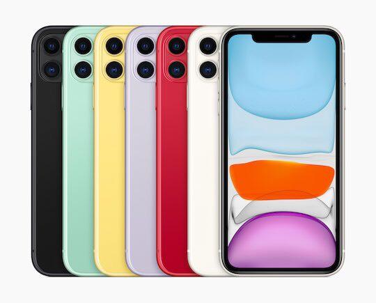 Iphone 11 - erhältlich ab 20.09.!