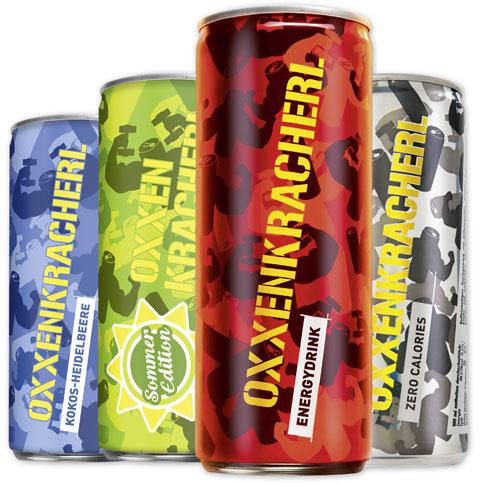 Oxxenkracherl Energy Drink - verschiedene Sorten, ab 4 Dosen