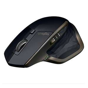 Logitech MX Master Amazon Exklusiv Kabellose Bluetooth Maus (für Windows und Mac) schwarz