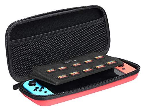 AmazonBasics - Tragetasche für die Nintendo Switch - Rot